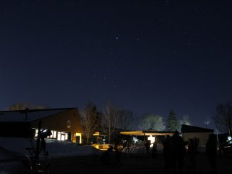 Constellation Canis Major at Oxbow